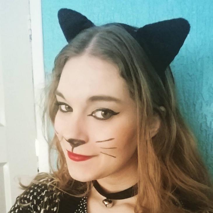 natural kitty makeup