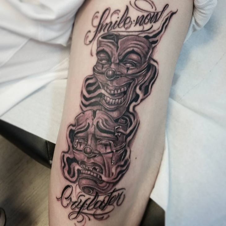 smoke shading tattoo