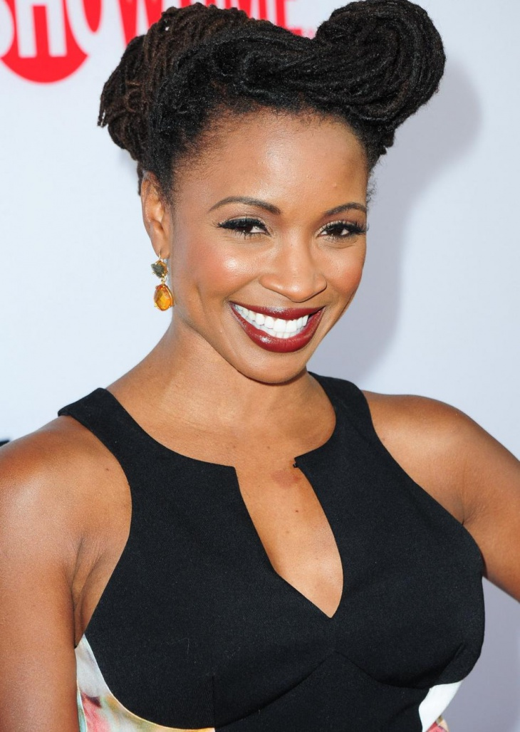 shanola hampton box braid hairstyle for prom