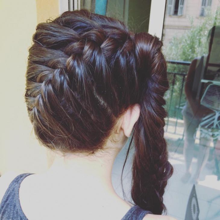 20+ French Braid Ponytail Haircut Ideas, Designs ...
