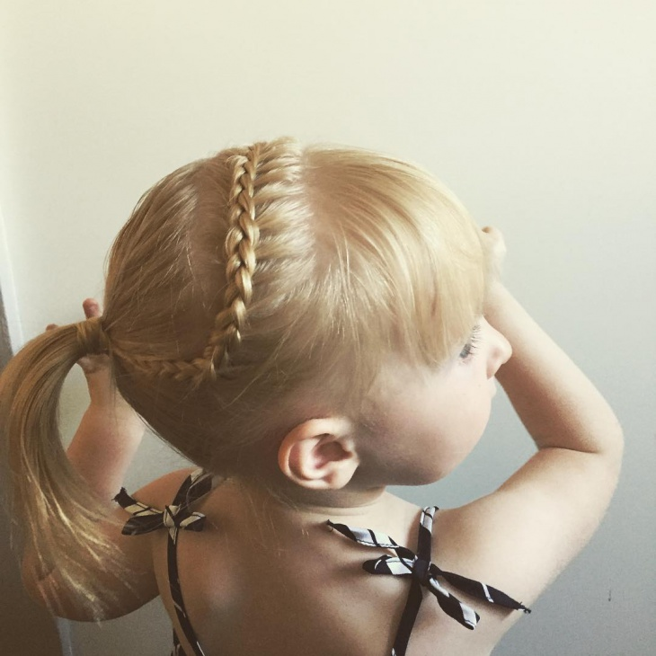 french braid for kids