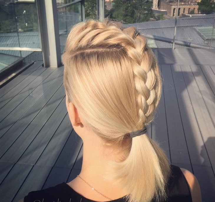 Stupendous 20 French Braid Ponytail Haircut Ideas Designs Hairstyles Short Hairstyles Gunalazisus