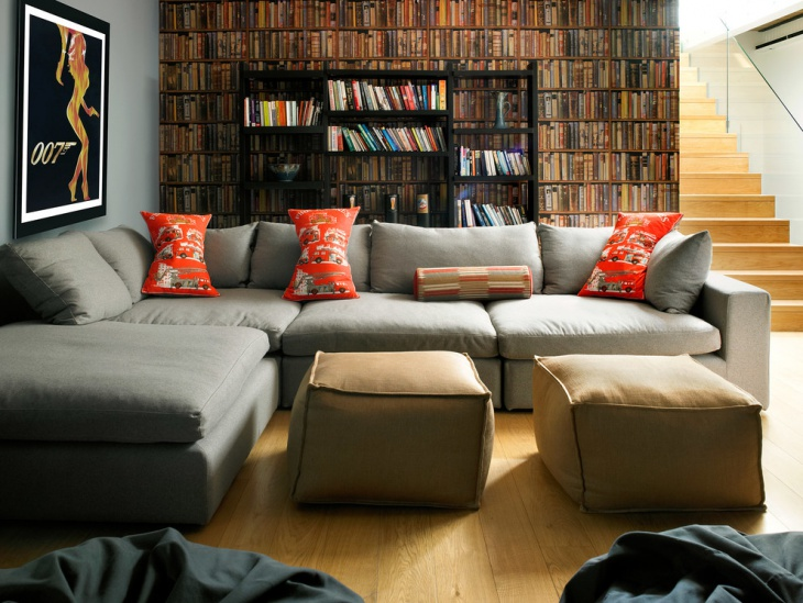 Traditional Corner Sofa Living Room