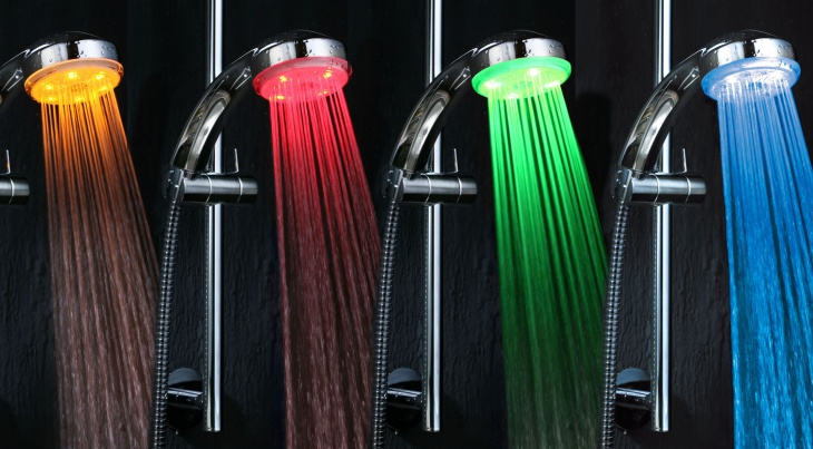 8. LED-Shower Head: $14.99