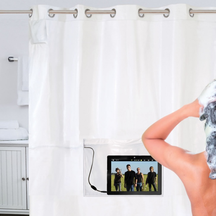 The iPad- Musical Shower