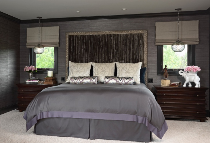 Dark Gray Bedroom Design