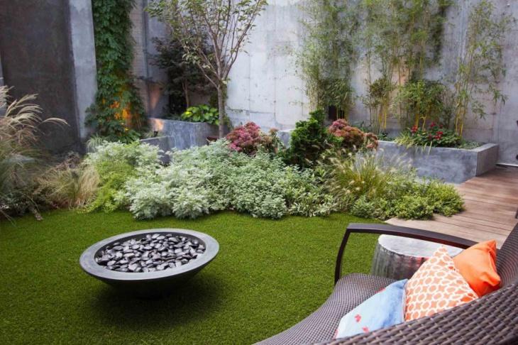contemporary urban garden design