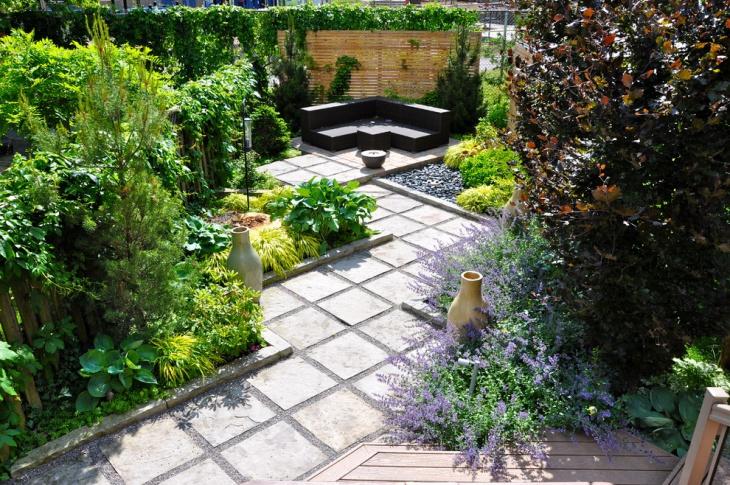 diy urban garden idea