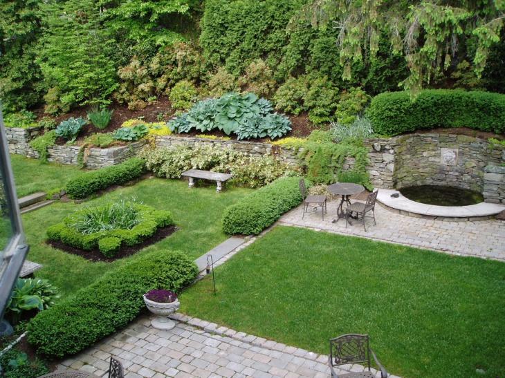 outdoor urban garden