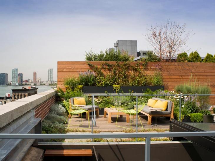 urban roof garden design