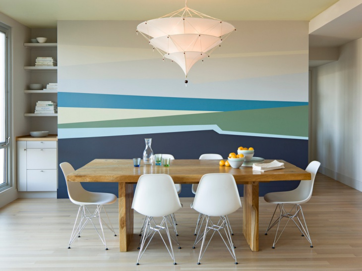 Modern Beach House Dining Room