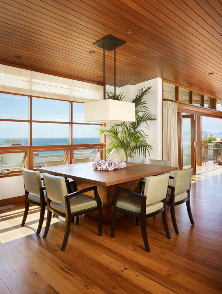 Tropical Beach House Dining Room