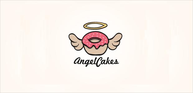 19 cake logos free editable psd ai vector eps format Angel logo design