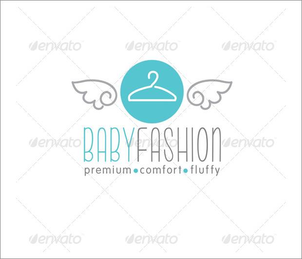 baby fashion logo template