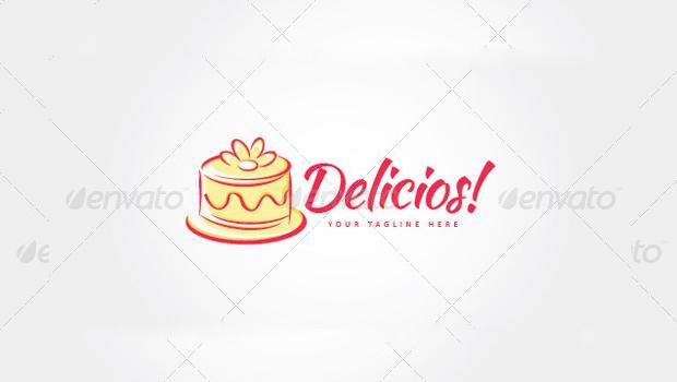 Cake and Tart Logo Design