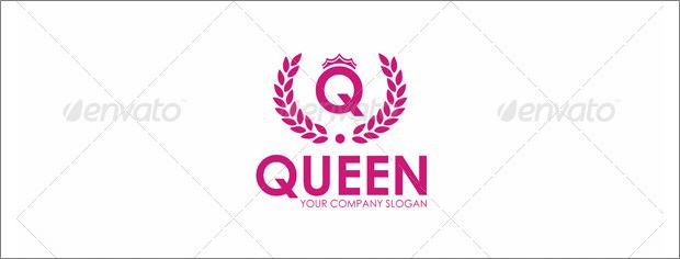queen fashion logo