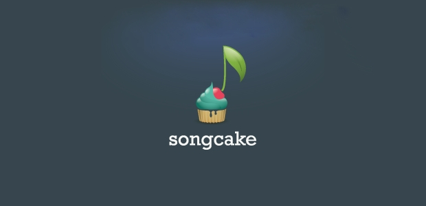 Music Song Cake Logo