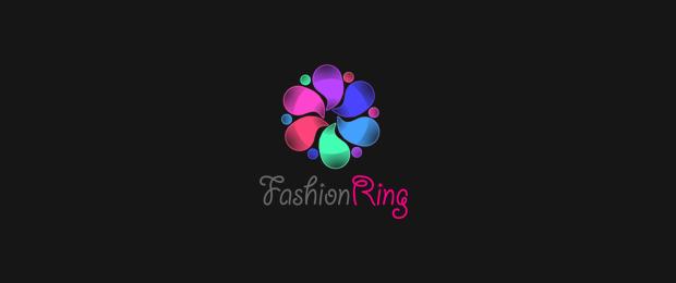 fashion ring logo design