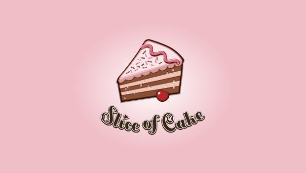 Cake Slice Logo