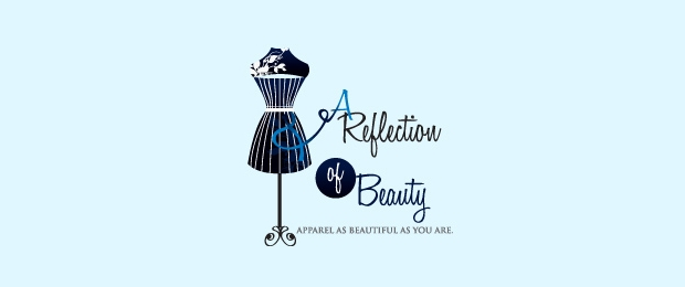 reflection fashion beauty logo