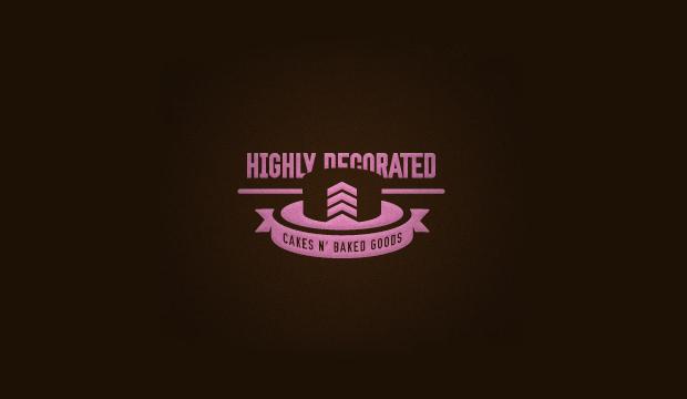 Highly Decorated Cake Logo