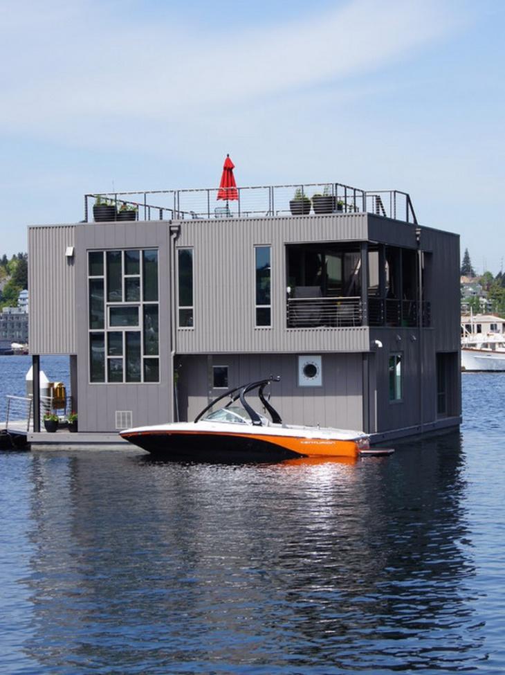 modern boat house design