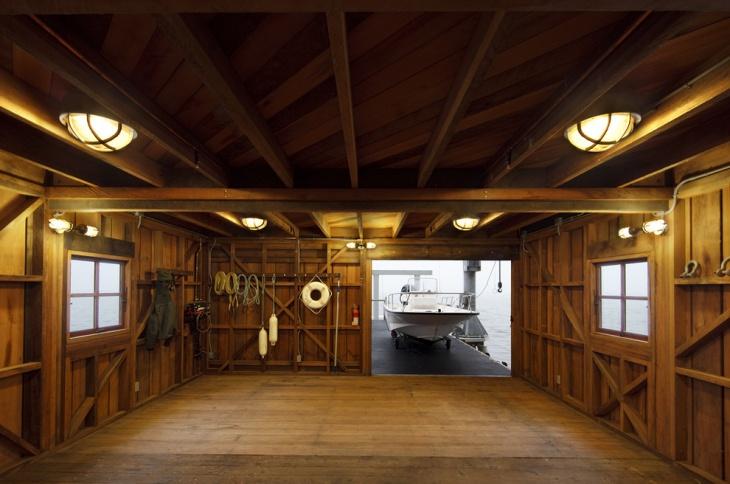 cottage boat house