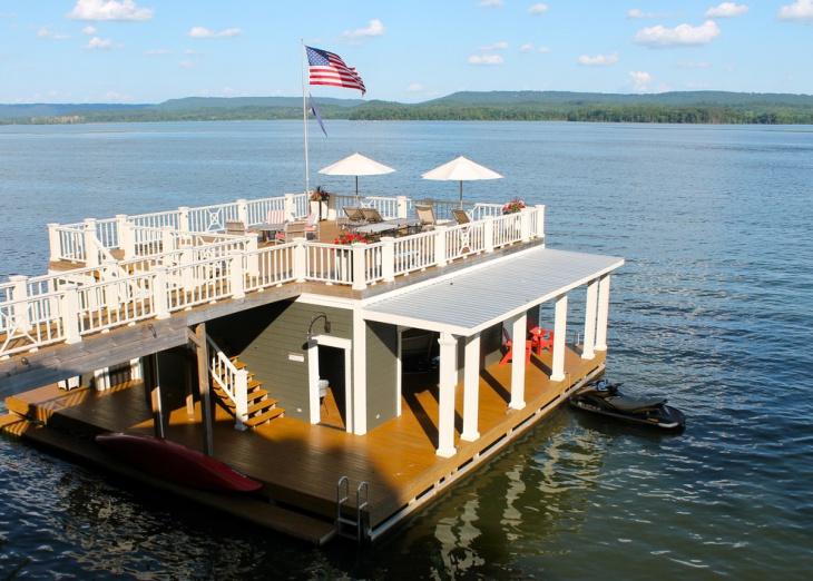 simple boat house idea