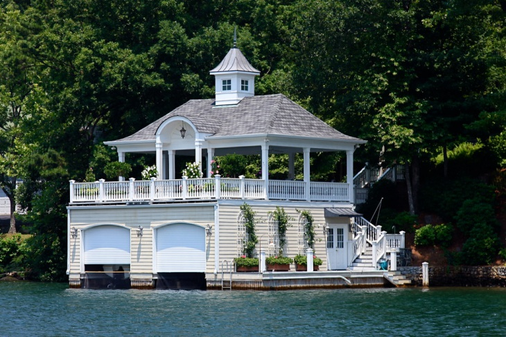 18 boat house designs ideas design trends premium for Boat house plans pictures