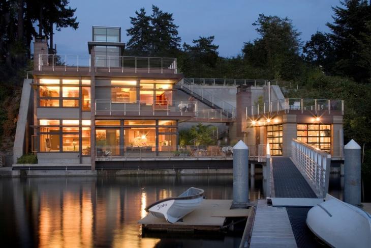 boat house lighting design