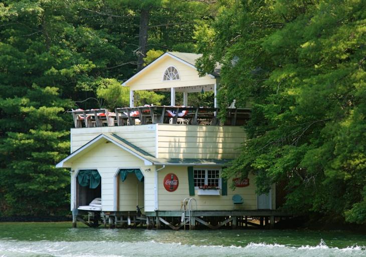 trendy boat house design