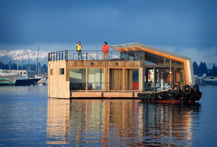 industrial boat house design