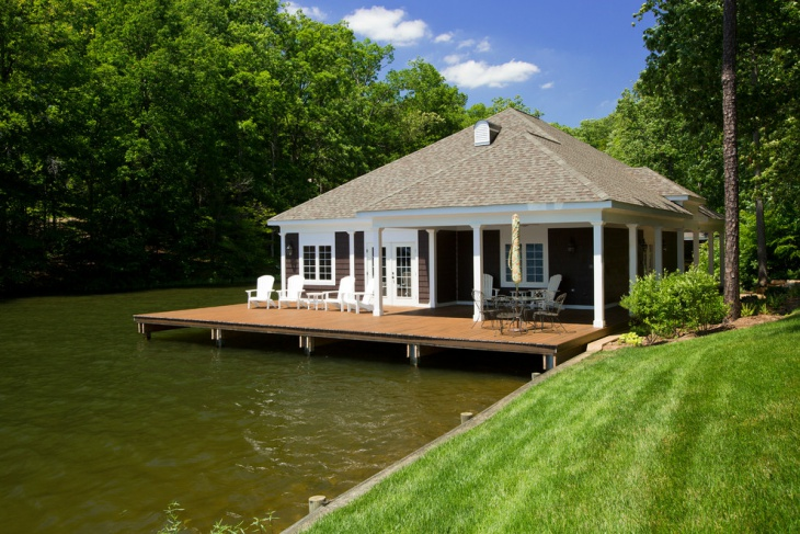 traditional boat house design