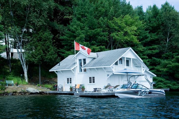 rustic boat house idea1