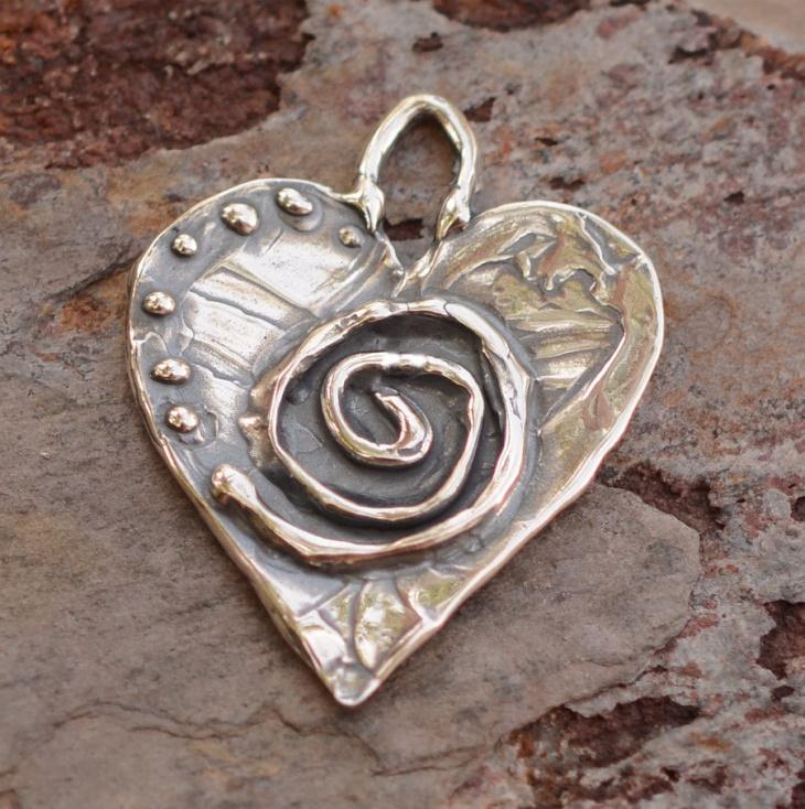 sacred heart jewelry design