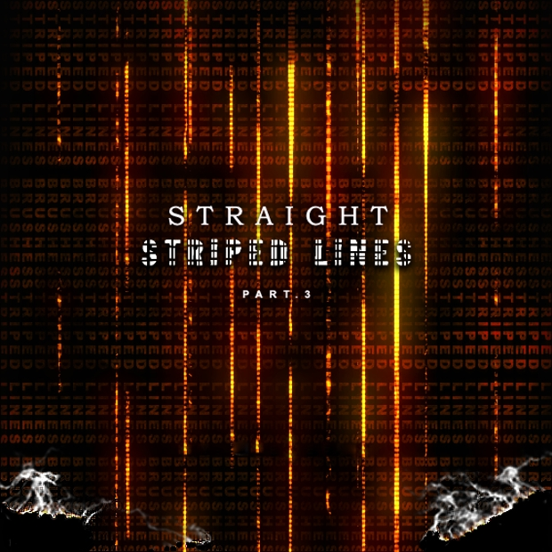 Straight Striped Line Brushes
