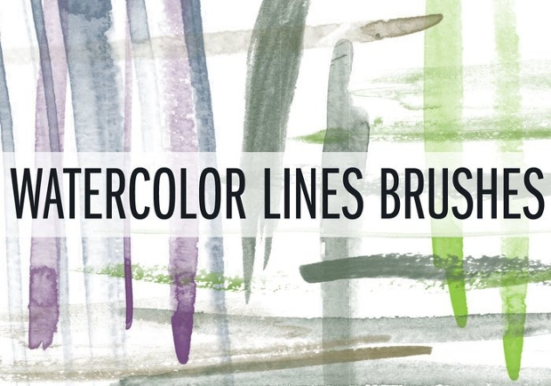 Watercolor Line Brushes