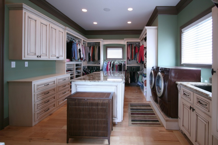 Laundry Room Closet Renovation