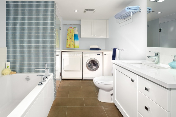 Small bathroom Laundry renovation