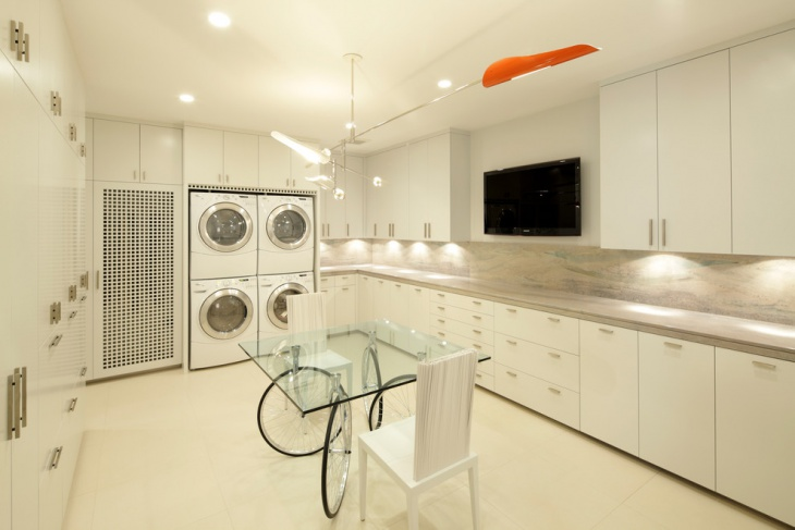Cool Laundry Room Design