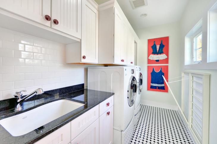 laundry room wall cabinets redo