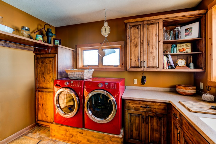 Rustic Laundry Room Renovation