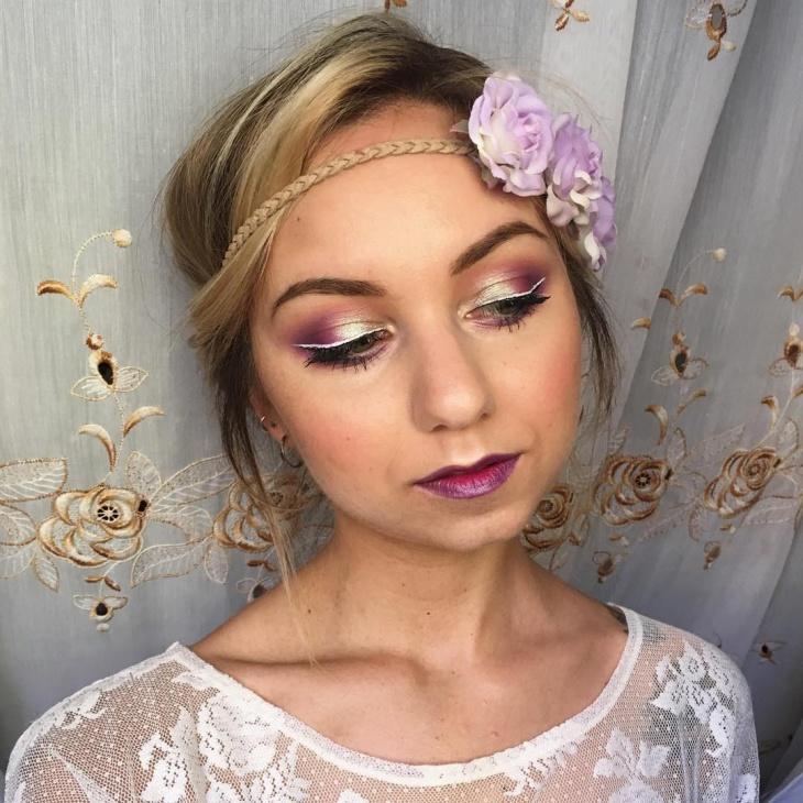 dark romantic makeup