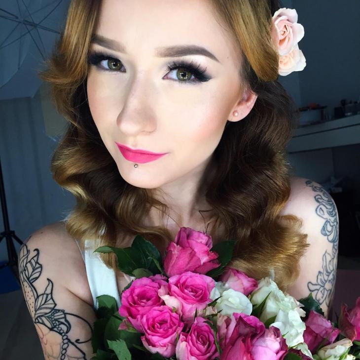 romantic wedding makeup