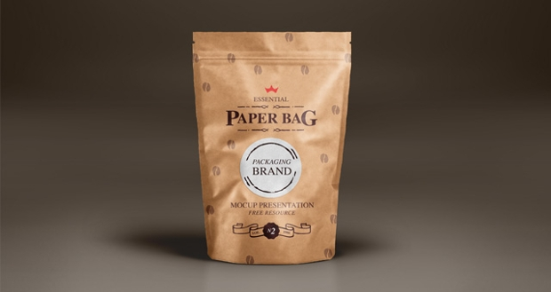 paper bags mock up