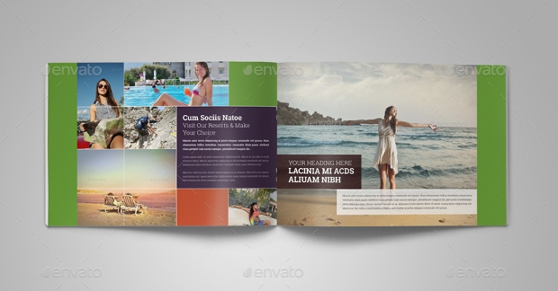 Hot Summer Vacation Brochure