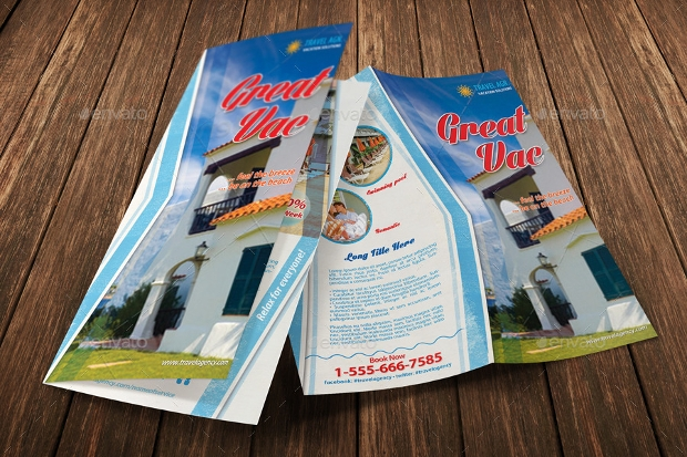 Holiday Vacation Brochure