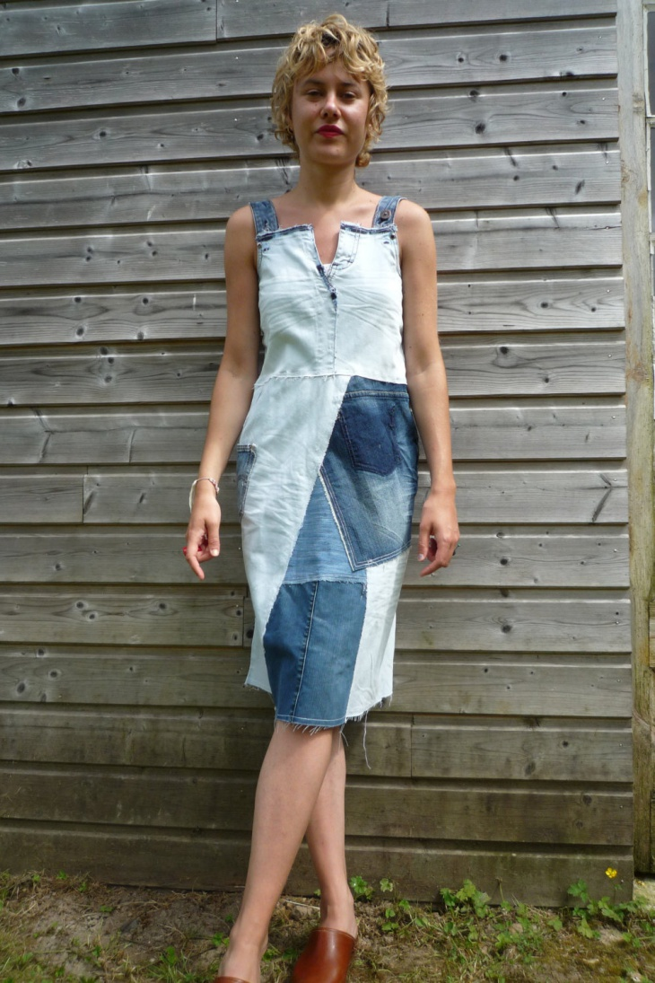 Jean Recycled Dress