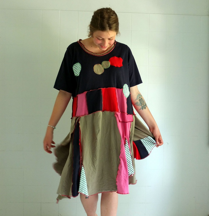 Recycled Summer Dress