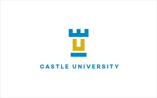 Castle University Logo Template
